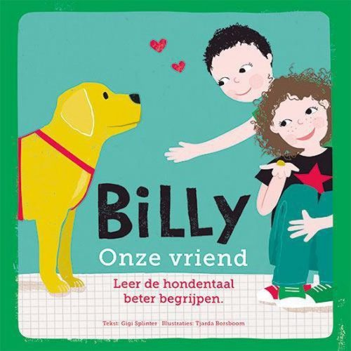Boek: Billy Onze Vriend – Gigi Splinter Incl. Bezorgkosten NL